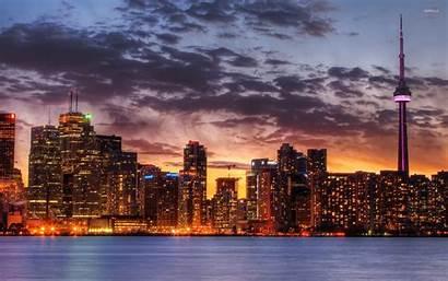 Toronto Skyline 4k Wallpapers Canada Phone Backgrounds