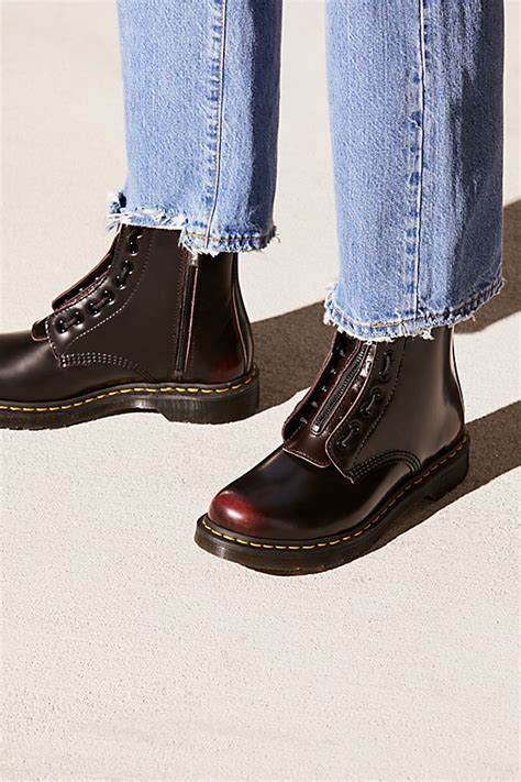 Martens Pascal Front Zip Free People
