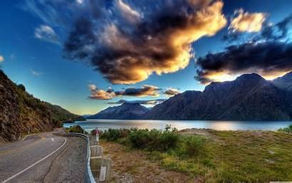 Scenery 4k Mountain Wallpapers Road Desktop Ultra