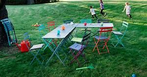 emejing salon de jardin en metal fermob gallery awesome With mobilier de jardin fermob 5 chaise luxembourg chaise de jardin metal