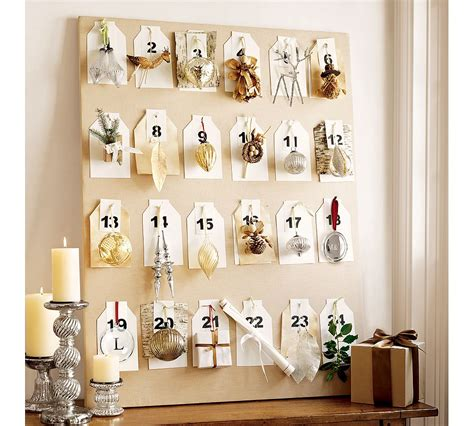 pottery barn advent calendar advent calendars it s almost time zeller interiors