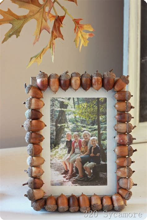 acorn inspired fall decor diy fall decor ideas making