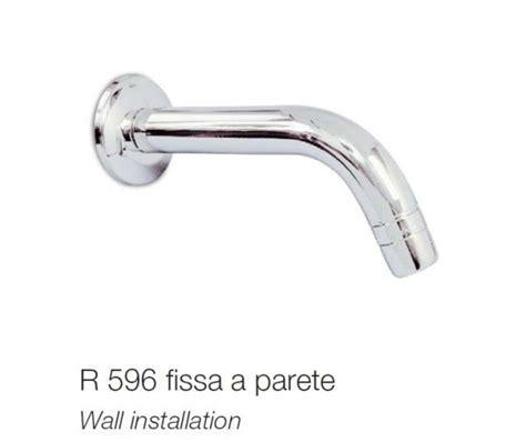 river rubinetti bocca erogazione a parete fissa river per rubinetti a pedale