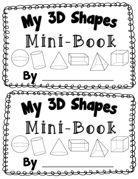 3d shape activities for preschoolers 14 best images of 3d worksheets for kindergarten 410