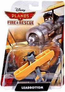 Disney Planes Fire & Rescue Leadbottom Diecast Plane on ...
