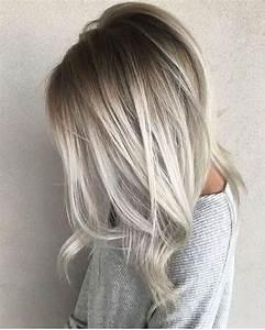 Grau Silber Haare : 1001 ideen f r silberblond als haarfarbe die ihnen inspirieren frisur ideen ombr haare ~ Frokenaadalensverden.com Haus und Dekorationen