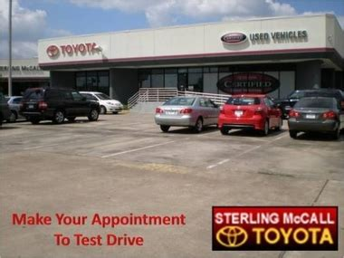 sterling mccall toyota houston tx