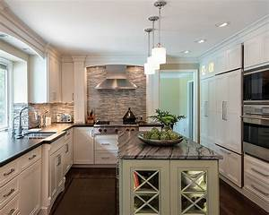 Luxury, Impresses, In, Small, Kitchens