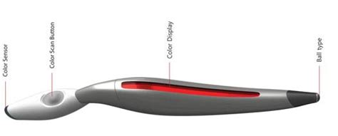 scan color pen creative s scan and draw color changing pen design a