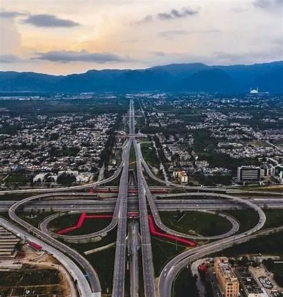 Islamabad Pakistan Motorway Interchange Infrastructureporn