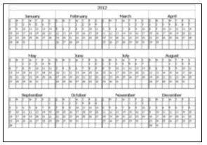 create  printable calendar calendar template