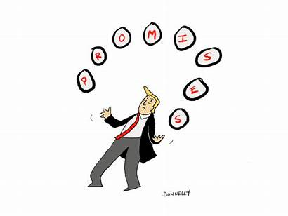 Trump Promises Liza Donnelly Cartoons Yorker Days
