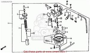 Honda Atc200 1982  C  Usa Carburetor