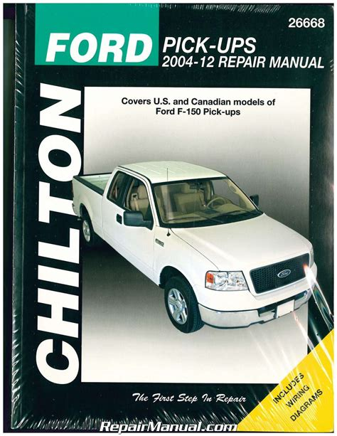 chilton car manuals free download 2004 ford ranger engine control ford f series repair manual