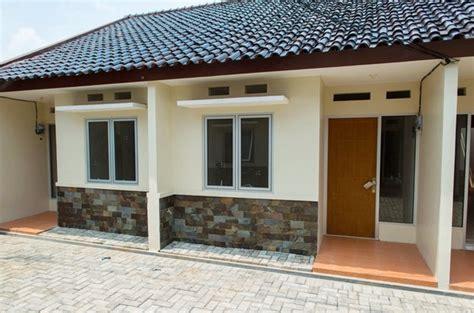 gambar desain rumah kost  kontrakan minimalis