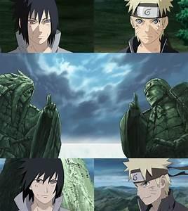 Naruto vs Sasuke Final Battle at the Final Valley by ...