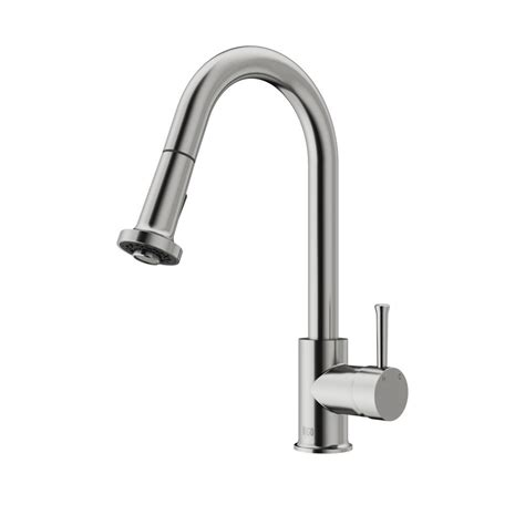 Vigo Kitchen Faucets by Vigo Harrison Single Handle Pull Sprayer Kitchen