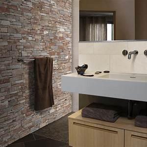Parement Salle De Bain : plaquette de parement pierre naturelle beige lens leroy ~ Melissatoandfro.com Idées de Décoration