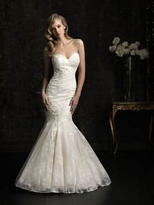 stunning mermaid sweetheart slim fitted ivory lace wedding With fitted mermaid wedding dresses