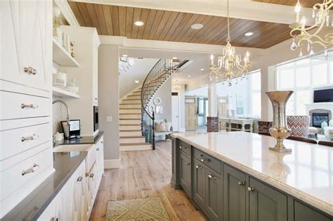 lighting kitchen cabinets 1000 ideas about blue grey kitchens on blue 7064