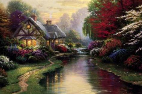 painter  light thomas kinkade mwindite