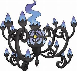 Mega Chandelure Pokemon Pokedex 8609
