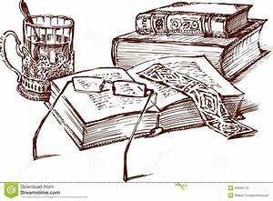 Still Life With Books Royalty Free Stock Images - Image ...