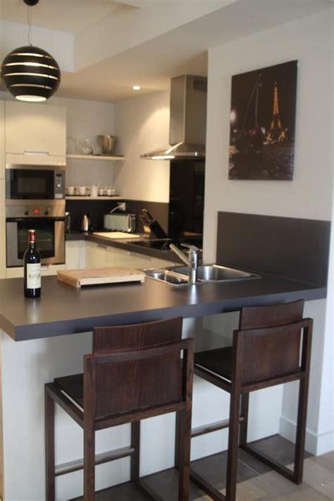 deco cuisine design déco cuisine table haute