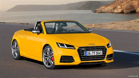 Audi Tt Roadster Yellow