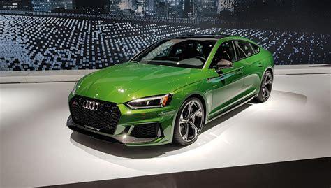 Audi Rs4 Sportback by New 2018 Audi Rs5 Sportback Revealed Car Magazine