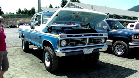 1976 Ford F 250 4x4   YouTube