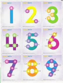 Free Printable Math Touch Points Number