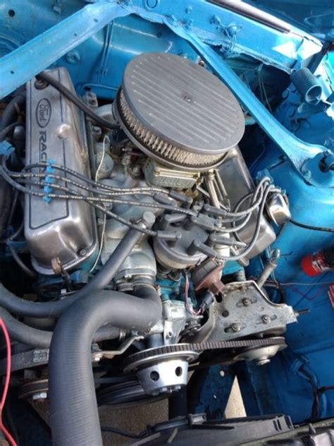 1969 Ford Mustang Coupe 351 Windsor Engine