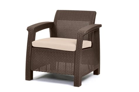 Keter Pool Lounge Chairs by Keter Corfu Armchair All Weather Outdoor Patio Furniture