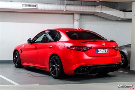 Alfa Romeo Tuning by Tuning Alfa Romeo Giulia Quadrifoglio Back
