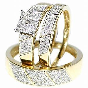 Wedding rings for men and women wedding promise for Wedding gold rings for women