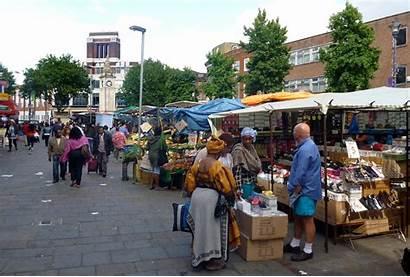 Lewisham Market Street London Markets Open Sign