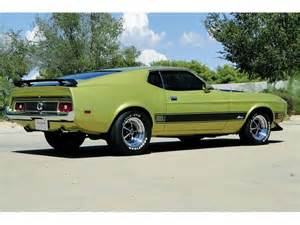 1973 Ford Mustang Mach 1 Sale
