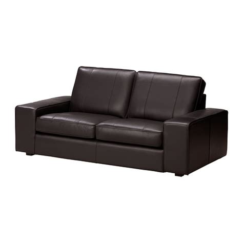 kivik two seat sofa grann bomstad brown ikea