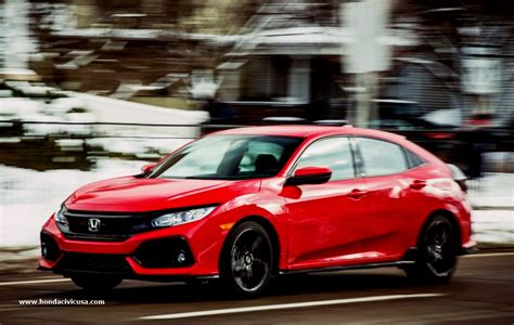 2019 Honda Civic Hatchback Redesign  Honda Civic Updates