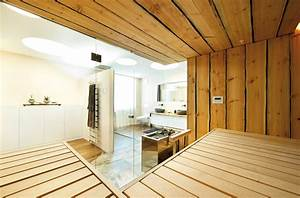 Sauna Mit Glasfront : sauna mit glasfronten von k ng detail magazin f r architektur baudetail ~ Whattoseeinmadrid.com Haus und Dekorationen