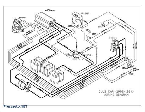 Wiring 36 Volt Club Car Motor by Ez Go 36 Volt Electric Golf Cart Wiring Diagram Wiring