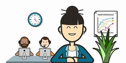 Call Center Clipart Centre Agent Professional Supervisors