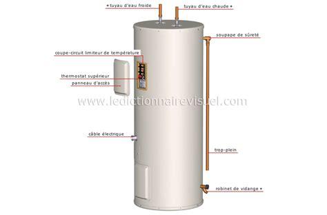 interieur chauffe eau electrique maison gt plomberie gt chauffe eau gt chauffe eau 233 lectrique image dictionnaire visuel