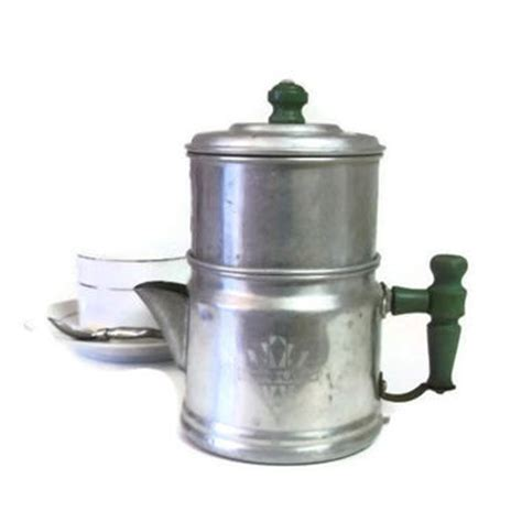 2 pot coffee maker vintage drip o lator coffee pot small from rescuedintime on etsy