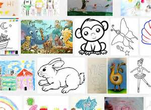 Kids Pencil Drawing Ideas