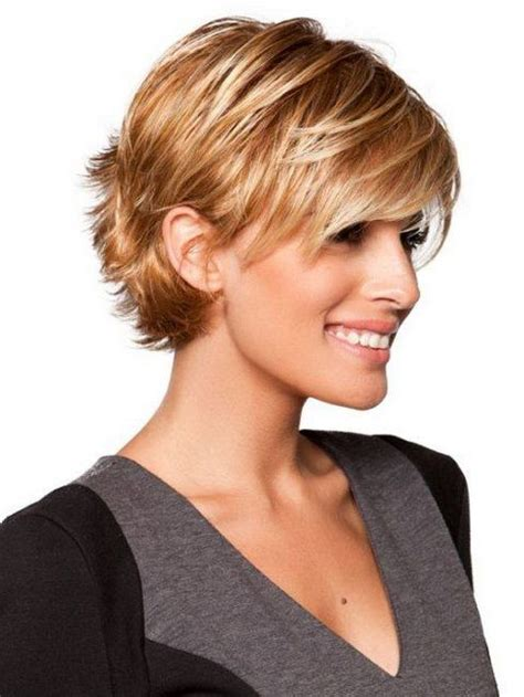 HD wallpapers short hairstyles for a round face and thin hair