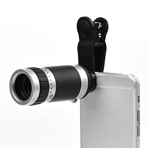 cell phone lens high quality universal optical 8 times zoom cell phone