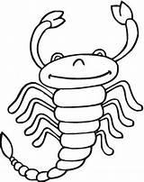 Scorpion Coloring Scorpione Printable Colorare Disegno Matilda Sheet Skorpion Disegni Scorpio Zodiac Stampare Simpatico Coloriage Ausmalbilder Dibujos Imprimer Colorear Supercoloring sketch template