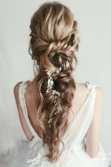 Top 20 Long Wedding Hairstyles from Cara Clyne (With